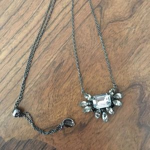 Juicy couture rhinestone adjustable necklace  🔹